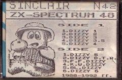 DIZZY - кассеты с играми для ZX Spectrum