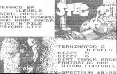 ДИМЫЧ и КОЛЯНЫЧ - кассеты с играми для ZX Spectrum