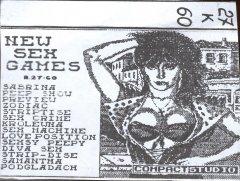 New Sex Games - кассеты с играми для ZX Spectrum