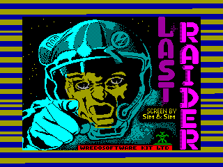 Last Raider — ZX SPECTRUM GAME ИГРА
