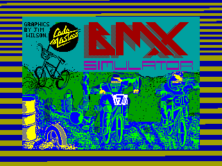 BMX Simulator — ZX SPECTRUM GAME ИГРА