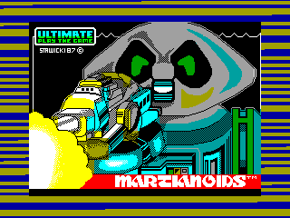 Martianoids — ZX SPECTRUM GAME ИГРА