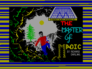 Master of Magic — ZX SPECTRUM GAME ИГРА