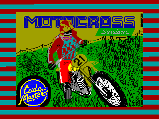 MOTOCROSS — ZX SPECTRUM GAME ИГРА
