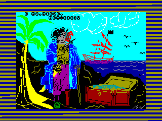 TREASURE ISLAND — ZX SPECTRUM GAME ИГРА