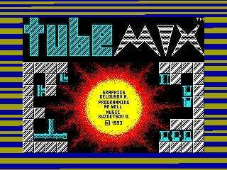 Tube Mix — ZX SPECTRUM GAME ИГРА