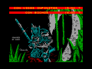 Camelot Warriors — ZX SPECTRUM GAME ИГРА