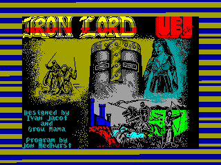 Iron Lord — ZX SPECTRUM GAME ИГРА