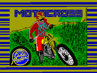 Moto Cross Simulator — ZX SPECTRUM GAME ИГРА