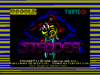 Strider II — ZX SPECTRUM GAME ИГРА