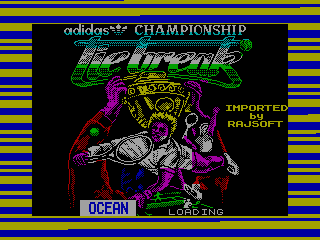 Adidas Championship Tie-Break — ZX SPECTRUM GAME ИГРА