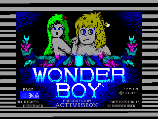 WONDER BOY — ZX SPECTRUM GAME ИГРА
