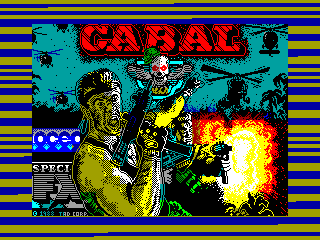 Cabal — ZX SPECTRUM GAME ИГРА