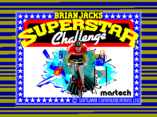 BRIAN JACK SUPER STAR — ZX SPECTRUM GAME ИГРА