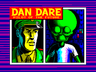 DAN DARE 1 — ZX SPECTRUM GAME ИГРА