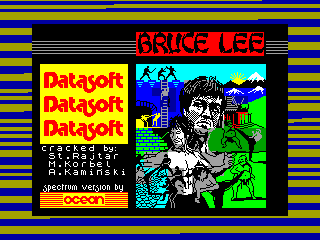 BRUCE LEE — ZX SPECTRUM GAME ИГРА