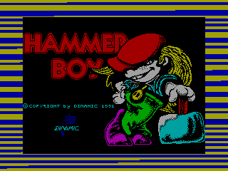 HAMMER BOY 2 — ZX SPECTRUM GAME ИГРА