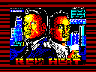 Red Heat — ZX SPECTRUM GAME ИГРА