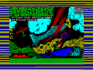 Flying Shark — ZX SPECTRUM GAME ИГРА