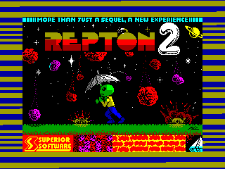 Repton 2 — ZX SPECTRUM GAME ИГРА