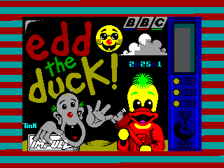 Edd the Duck — ZX SPECTRUM GAME ИГРА