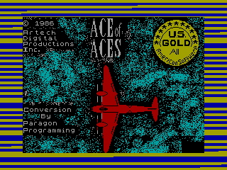 Ace of Aces — ZX SPECTRUM GAME ИГРА