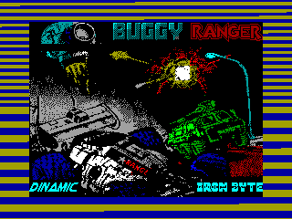 Buggy Ranger — ZX SPECTRUM GAME ИГРА