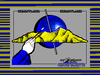 HEARTLAND — ZX SPECTRUM GAME ИГРА