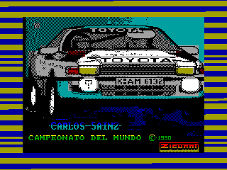 Carlos Sainz — ZX SPECTRUM GAME ИГРА