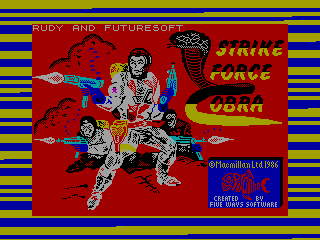 Strike Force Cobra — ZX SPECTRUM GAME ИГРА