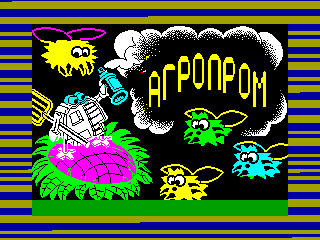 Pssst — ZX SPECTRUM GAME ИГРА