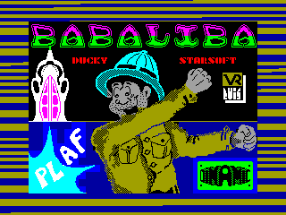 Babaliba — ZX SPECTRUM GAME ИГРА