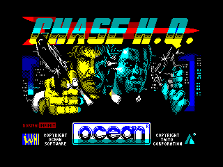 CHASE H.Q — ZX SPECTRUM GAME ИГРА