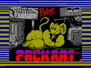 Peter Pack Rat — ZX SPECTRUM GAME ИГРА