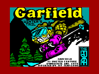 Garfield - Winter's Tail — ZX SPECTRUM GAME ИГРА