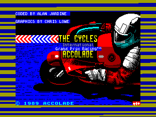 Cycles, The — ZX SPECTRUM GAME ИГРА