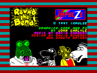 Round the Bend! — ZX SPECTRUM GAME ИГРА