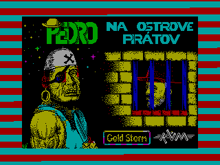 Pedro na Ostrove Piratov — ZX SPECTRUM GAME ИГРА