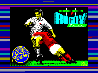 INTERNATIONAL RUGBY — ZX SPECTRUM GAME ИГРА