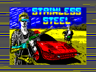 Stainless Steel — ZX SPECTRUM GAME ИГРА