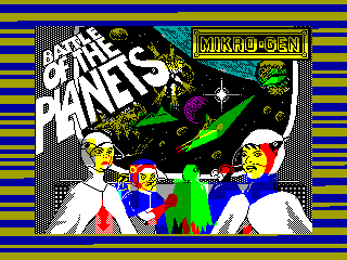 Battle of the Planets — ZX SPECTRUM GAME ИГРА