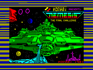 Nemesis — ZX SPECTRUM GAME ИГРА