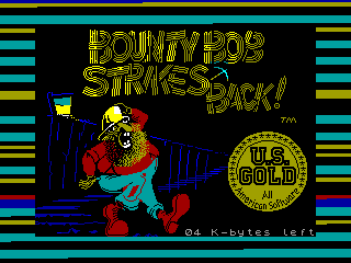 Bounty Bob Strikes Back — ZX SPECTRUM GAME ИГРА