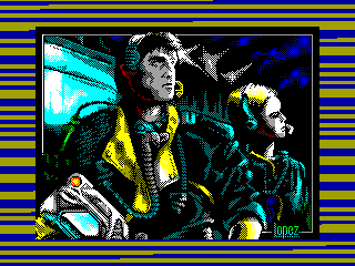 Comando Tracer — ZX SPECTRUM GAME ИГРА