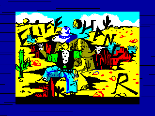Cliff Hanger — ZX SPECTRUM GAME ИГРА