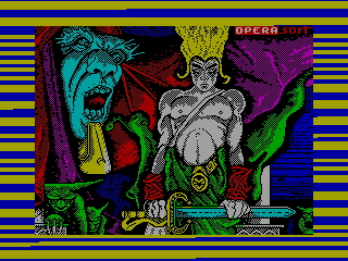 SIRWOOD 0 — ZX SPECTRUM GAME ИГРА