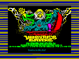 Vampire's Empire — ZX SPECTRUM GAME ИГРА