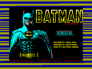 Batman: The Movie — ZX SPECTRUM GAME ИГРА