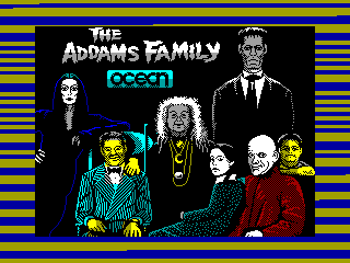 Addams Family, The — ZX SPECTRUM GAME ИГРА