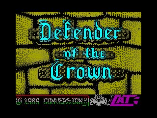 Defender of the Crown — ZX SPECTRUM GAME ИГРА
